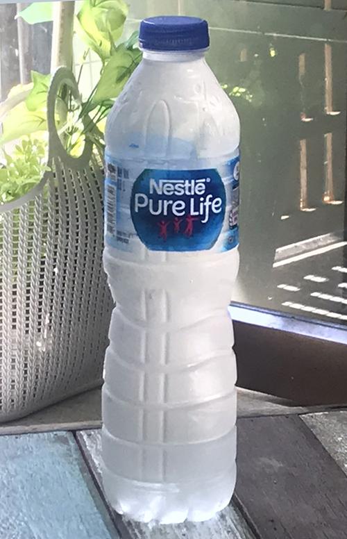 NESTLÉ PURE LIFEも150ppmの硬水